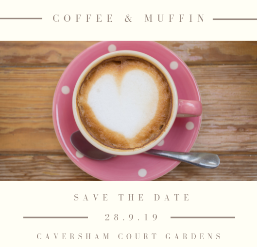 Save the date for coffee & muffins