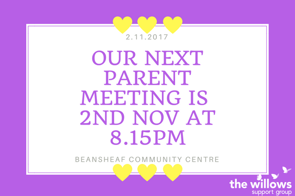 November Parent Meeting