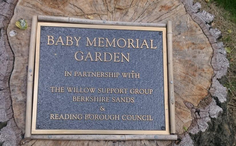 Update on Caversham Crematorium baby garden