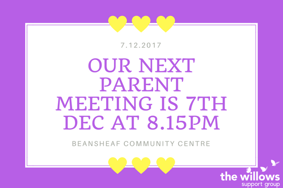 December parent support meeting