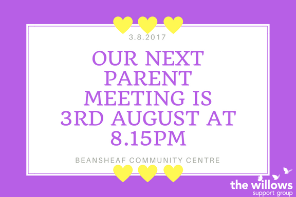 August Parents Meeting