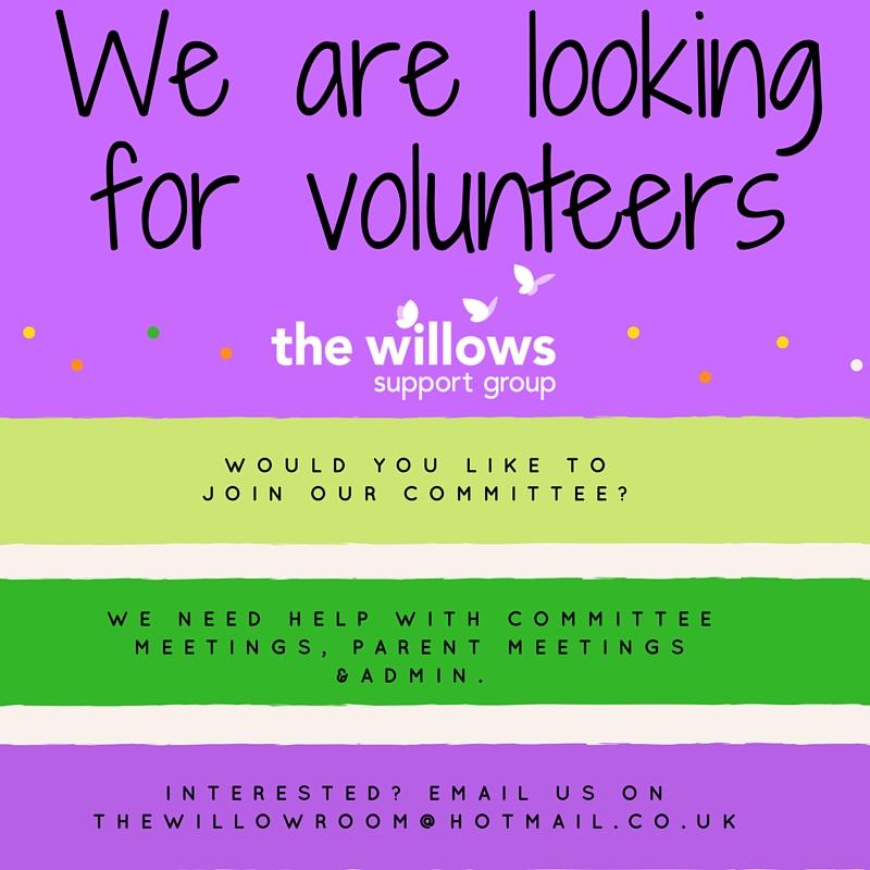 Looking for new volunteers