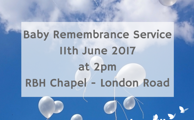RBH Baby Remembrance Service