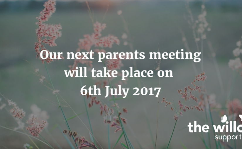 July parent meeting