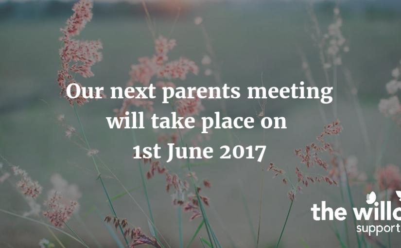 June Parents Meeting