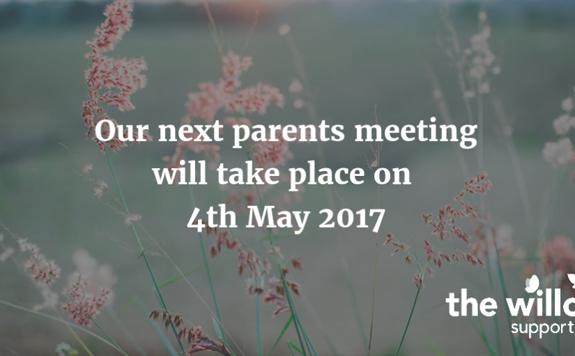 May parent meeting